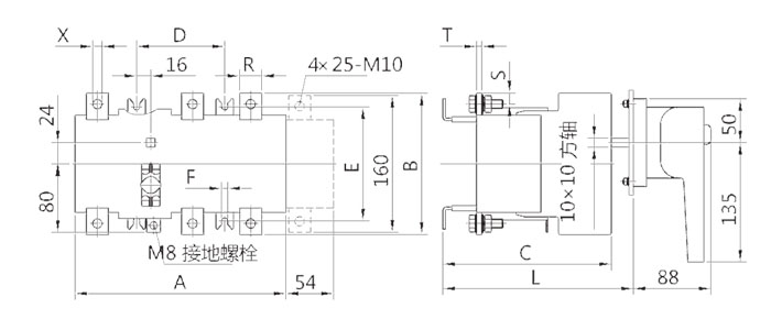 HH15(QSA)-630、800、1000、1250A