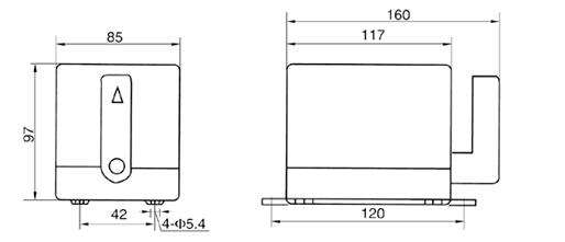 k05-m系列防水倒顺开关接线图