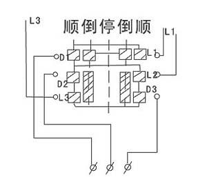 hz3系列组合开关接线图